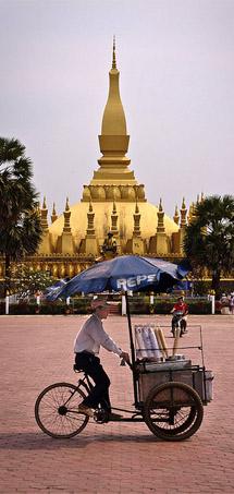 That Luang stupa, Laos