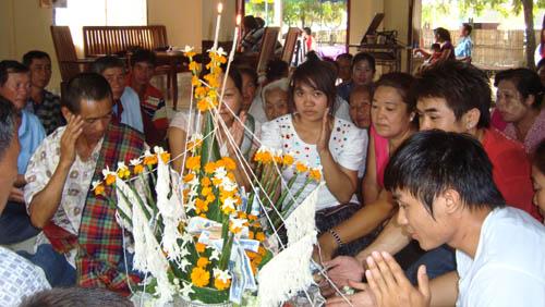 Lao Baci or Sou Khuan