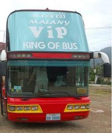 Vang Vieng - Udon Thani Bus