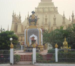 Vientiane history