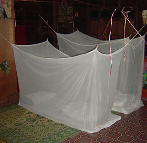 Lao Homestay sleeping gear