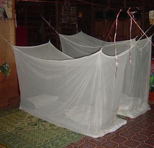 Lao Homestay sleeping gear