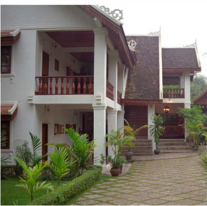 Laos Accommodation - Hotel Villa Santi