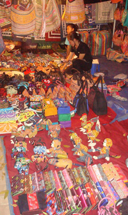 Laos Capital - Vientiane night market