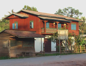 Laos culture - Lao house