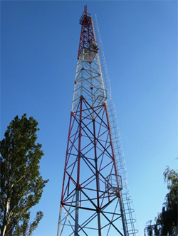 Lao telecommunication tower