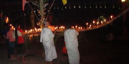 Lao festivals -  Hua Fai