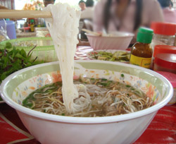 Laos food: Noodle