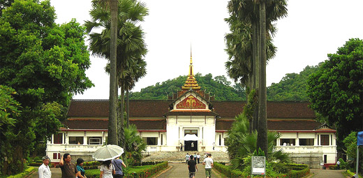 Royal Palance Museum in Luang Prabang, Laos