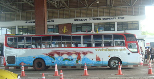 Lao-Thai bus service