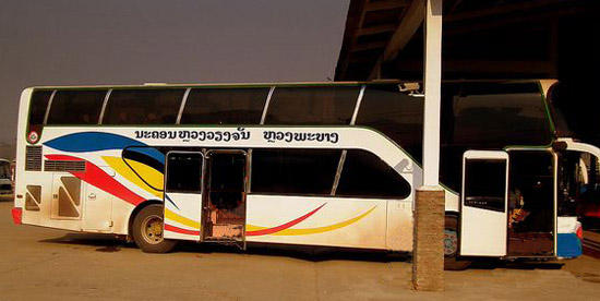 Vientiane - Luang Prabang bus