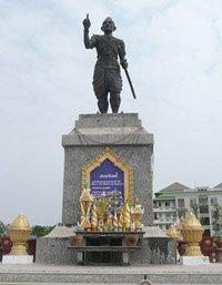 King Fa Ngum statue
