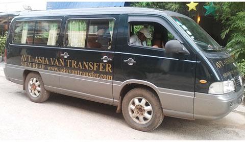 Lao-Cambodia minivan