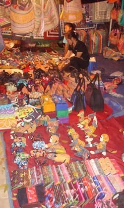 Laos Capital - Vientiane night market