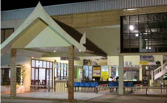 Pakse bus station