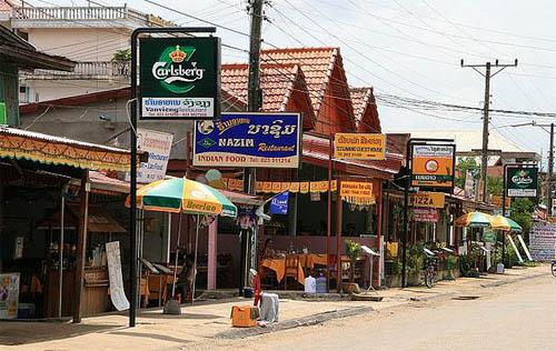 Vang Vieng restaurants