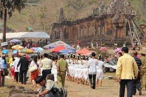 Wat Phu Festival, Champasak province