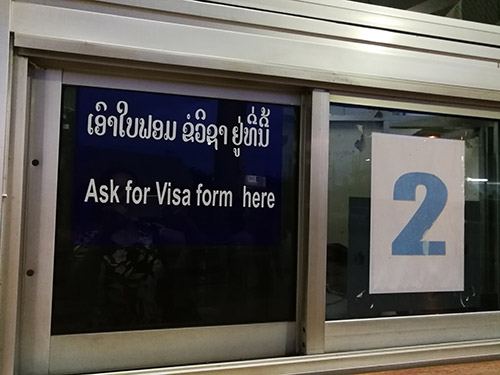 Laos visa on arrival - How, Who, Where to get it