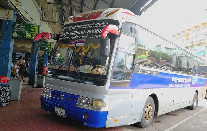 VangVieng-Udonthani bus