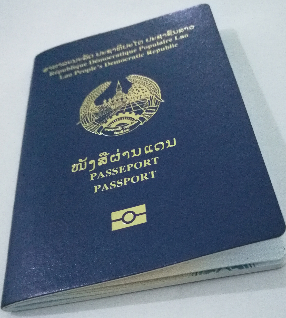 Laos passport