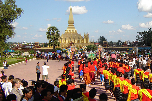 Laos Festivals And Events Lao New Year Boat Race Festival