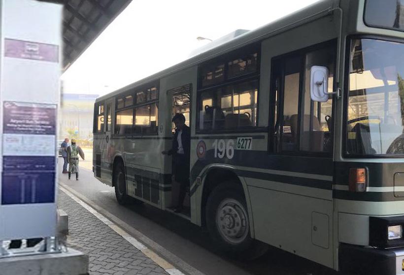 Airport Shuttle Bus in Vientiane
