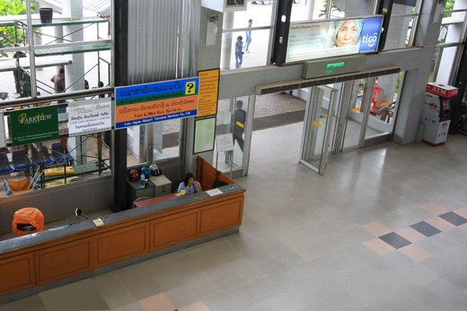 Vientiane Airport Taxi counter