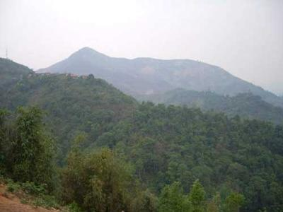 The hills in the north of Laos