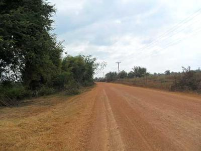 The 18km dust road (#11) to Thakhek